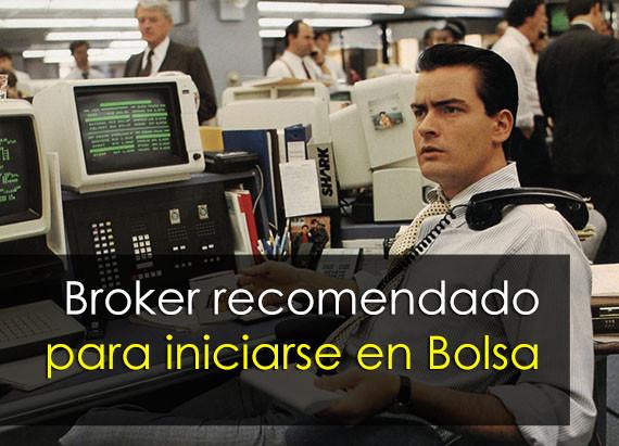 Crear una cuenta de broker. Broker confiable